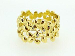 Žiedas Nr.118 (iš geltono, balto arba raudono aukso)