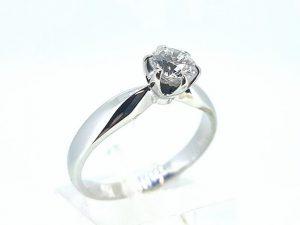 Žiedas Nr.164 (su briliantu, iš balto, geltono arba raudono aukso)