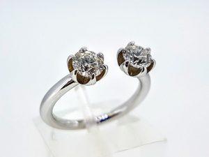 Žiedas Nr.166 (su briliantais, iš balto, geltono arba raudono aukso)