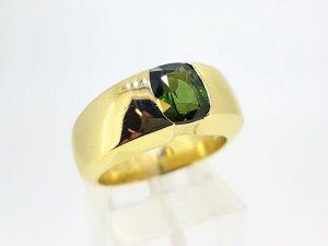 Žiedas Nr.167 (su turmalinu, iš geltono arba kitos spalvos aukso)