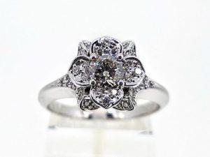 Žiedas Nr.180 (su briliantais, iš aukso)
