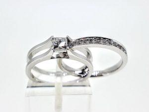 Žiedas Nr.188 (2 dalių, iš aukso su briliantais)