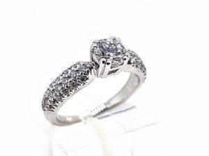 Žiedas Nr.197 (iš aukso, puoštas brangakmeniais)