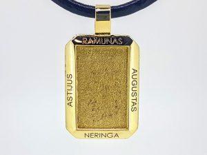 Pakabukas Nr.27 (su vardais, iš geltono arba kitos spalvos aukso)