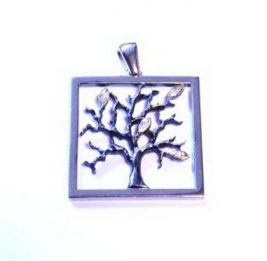 Pakabukas Nr.33 (su medžio motyvu, iš sidabro arba aukso)