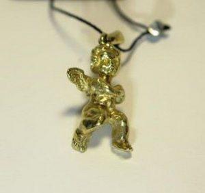 Pakabukas Nr.5 (angeliukas,iš geltono, raudono arba balto aukso)