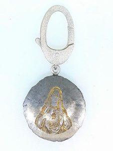 Pakabukas Nr.70 (iš meteorito, puošto auksu)