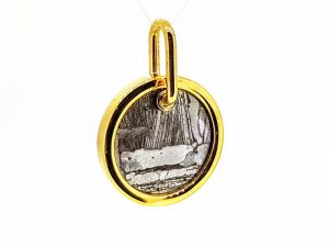 Pakabukas Nr.95 (iš meteorito ir aukso)