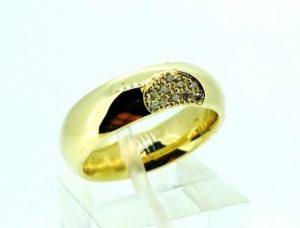 Žiedas Nr.98 (iš geltono, arba kitos spalvos aukso, su briliantais)