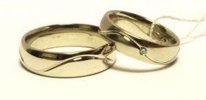 Vestuviniai žiedai Nr.126 (klasikiniai, iš geltono, raudono arba balto aukso)