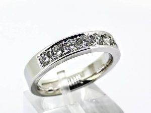 Sužadėtuvių žiedas Nr.174 (su briliantais, iš aukso)