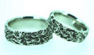 Vestuviniai žiedai Nr.185 (iš platinos arba balto aukso)