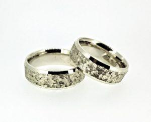 Vestuviniai žiedai Nr.191 (iš geltono, raudono arba balto aukso)