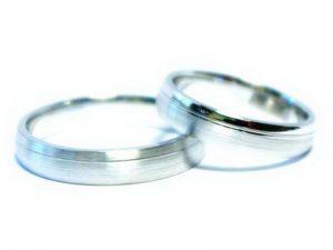 Vestuviniai žiedai Nr.217 (iš balto, arba kitos spalvos aukso)