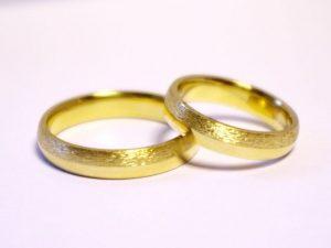 Vestuviniai žiedai Nr.219 (iš geltono, raudono arba balto aukso)