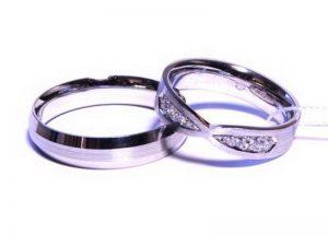 Vestuviniai žiedai Nr.225 ( iš balto, geltono arba raudono aukso)