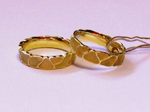 Vestuviniai žiedai Nr.230 (iš geltono, arba kitos spalvos aukso)
