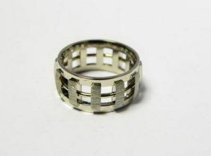 Vestuviniai žiedai Nr.23 (iš dviejų spalvų aukso)