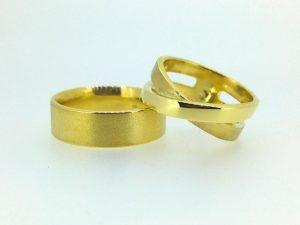 Vestuviniai žiedai Nr.241 (iš geltono arba kitos spalvos aukso)