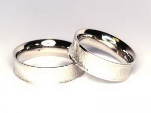 Vestuviniai žiedai Nr.244 (iš balto, arba kitos spalvos aukso)