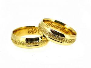 Vestuviniai žiedai Nr.282 (iš geltono arba kitos spalvos aukso)