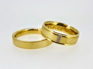 Vestuviniai žiedai Nr.295 (iš geltono, arba kitos spalvos aukso)