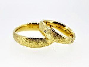 Vestuviniai žiedai Nr.296 (iš geltono, raudono ar balto aukso)