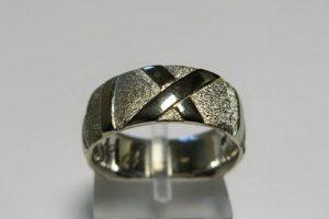 Vestuviniai žiedai Nr.57 (iš balto, geltono arba raudono aukso)
