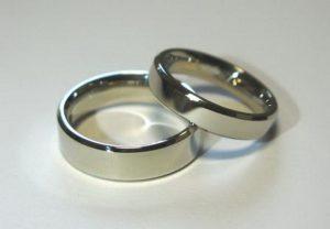 Vestuviniai žiedai Nr.68 (iš balto, geltono arba raudono aukso)
