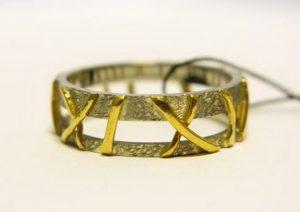 Vestuviniai žiedai Nr.87 (iš platinos ir geltono aukso)
