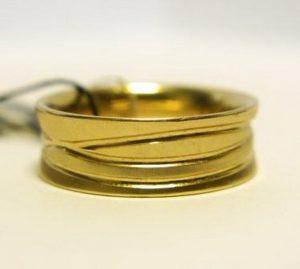 Vestuviniai žiedai Nr.89 (platūs, iš geltono arba raudono aukso)