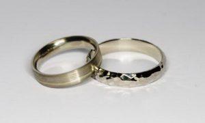 Vestuviniai žiedai Nr.98 (iš platinos arba balto aukso)